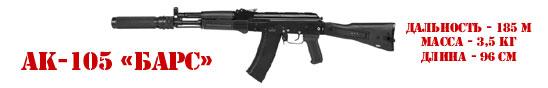 Игровой комплект АК-105 «БАРС» серии «STEEL»