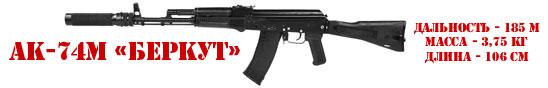 Игровой комплект АК-74М «БЕРКУТ» серии «STEEL»