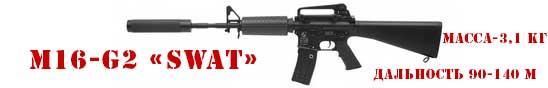 Игровой комплект M-16-G2 «SWAT» серии «ORIGINAL»