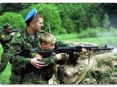 Воспитание воина на Руси