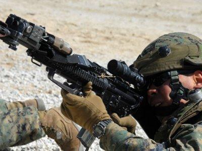 Лазертаг и армия