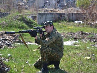 Выбор и маскировка позиции снайпера